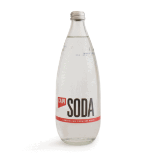 Glass Soda Bottle