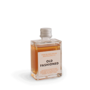 Old Fashioned in glass bottle