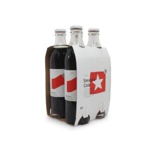 4 x glass bottles of soda